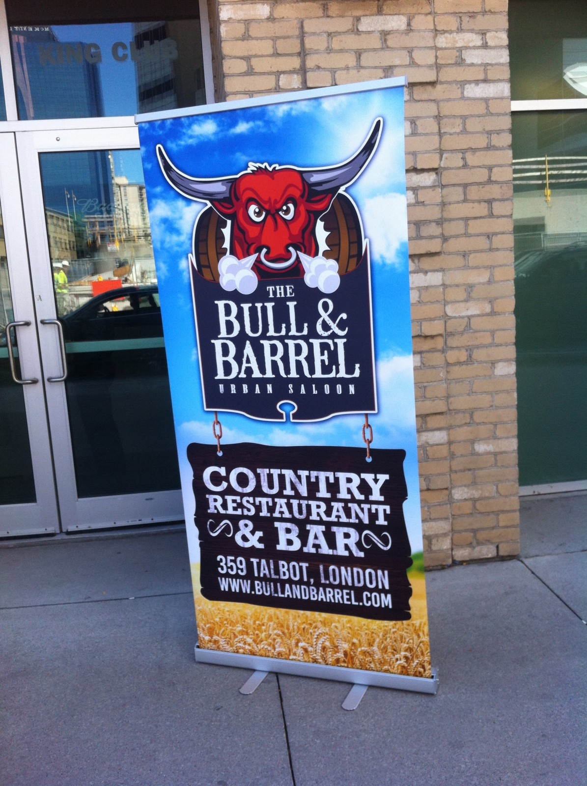 Up to 200 apply to Bull and Barrel, despite backlash