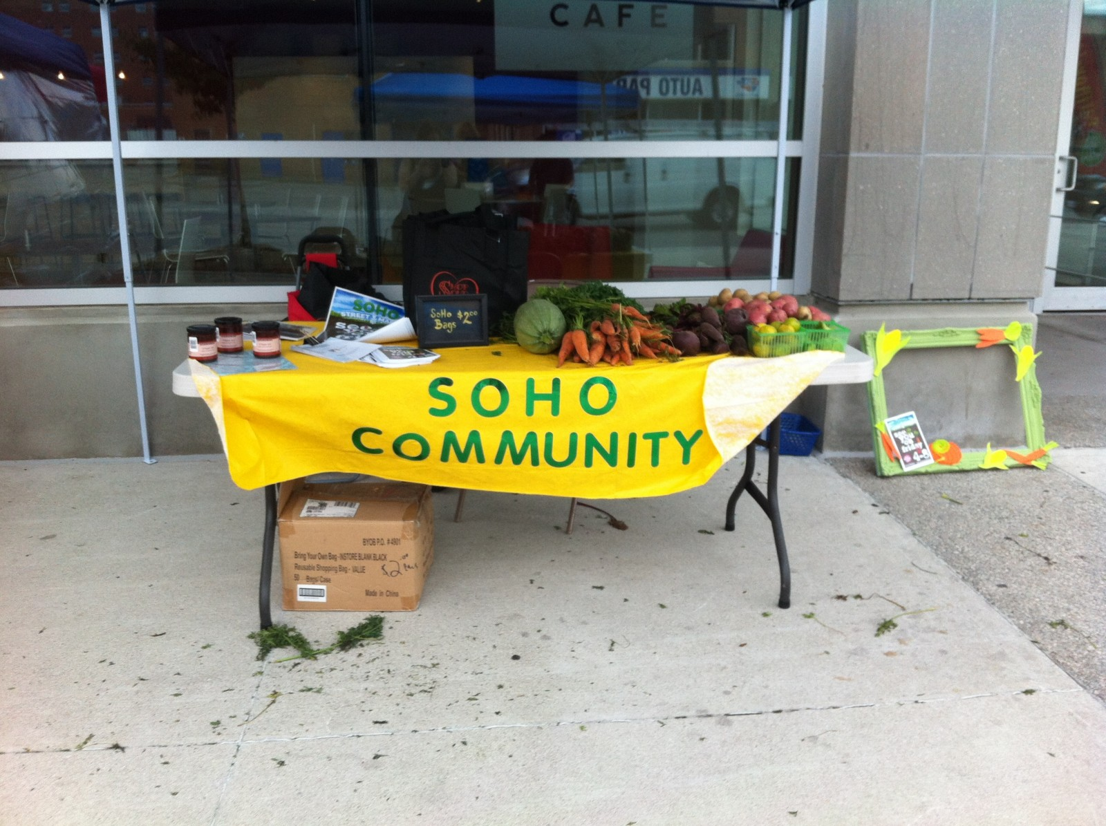 SoHo learns some lessons after running market
