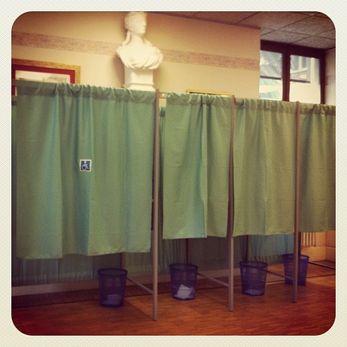 Added voting services available for people with disabilities