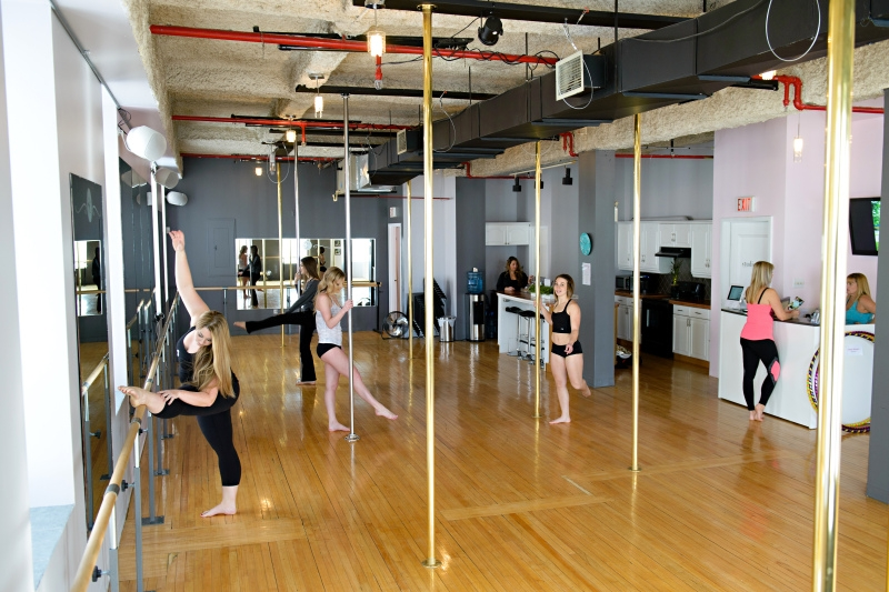 Pole Dancing 101 at Studio Chic