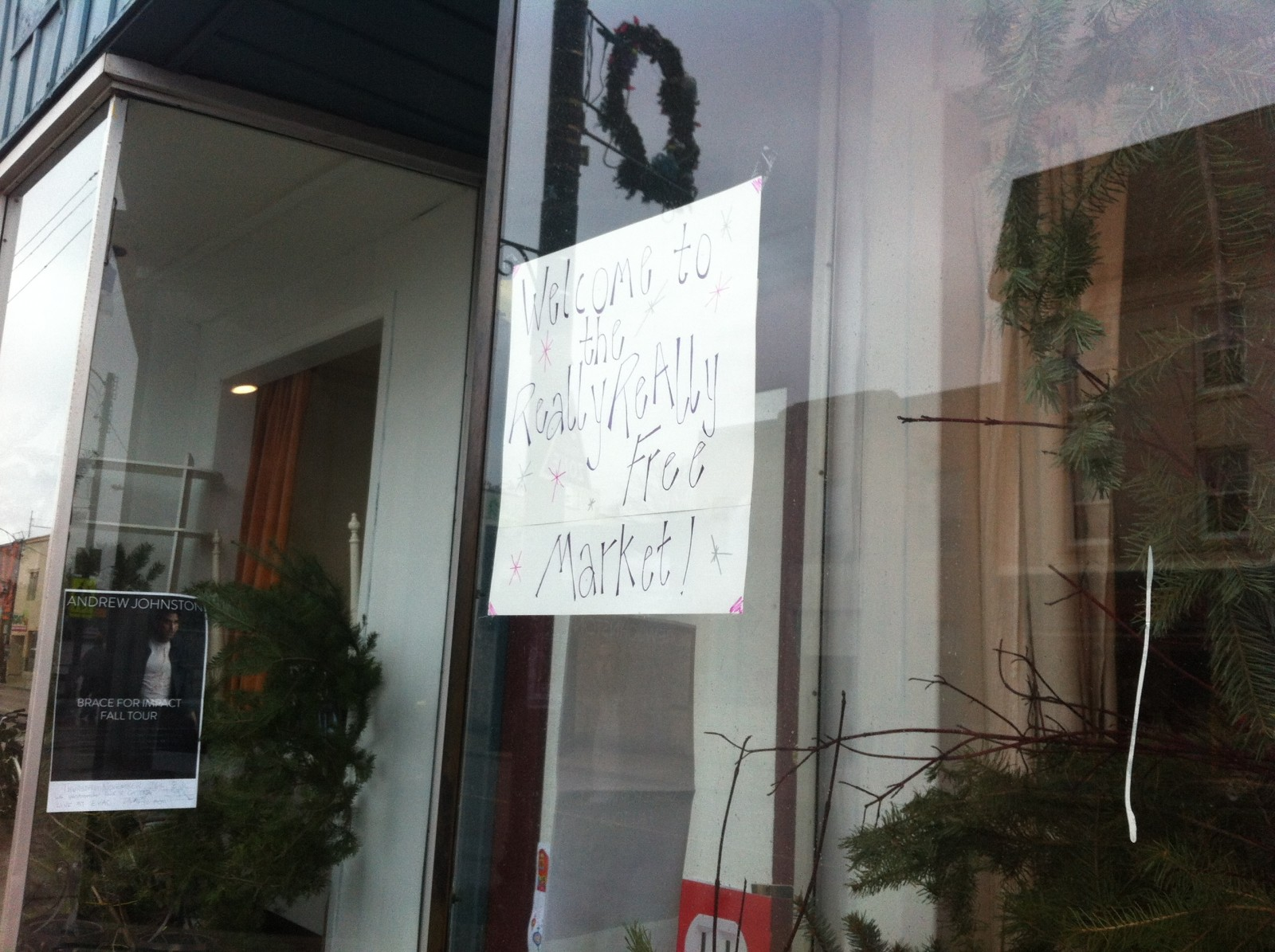 EVAC looking for help for Buy Nothing Day
