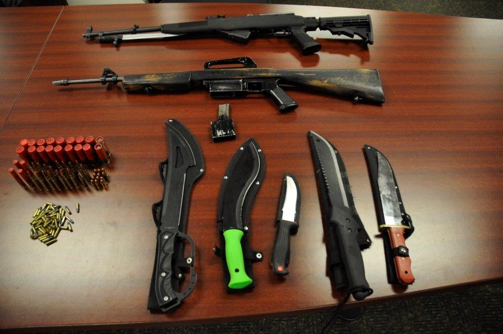 London Police seize five knives and two rifles in Gramercy Park Place Raid