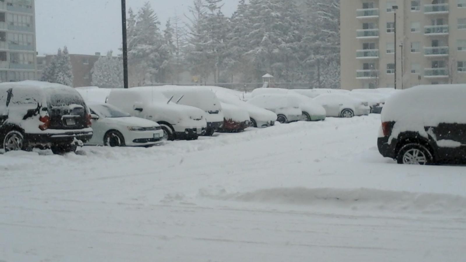 Heavy snowfall hammers Southwestern Ontario