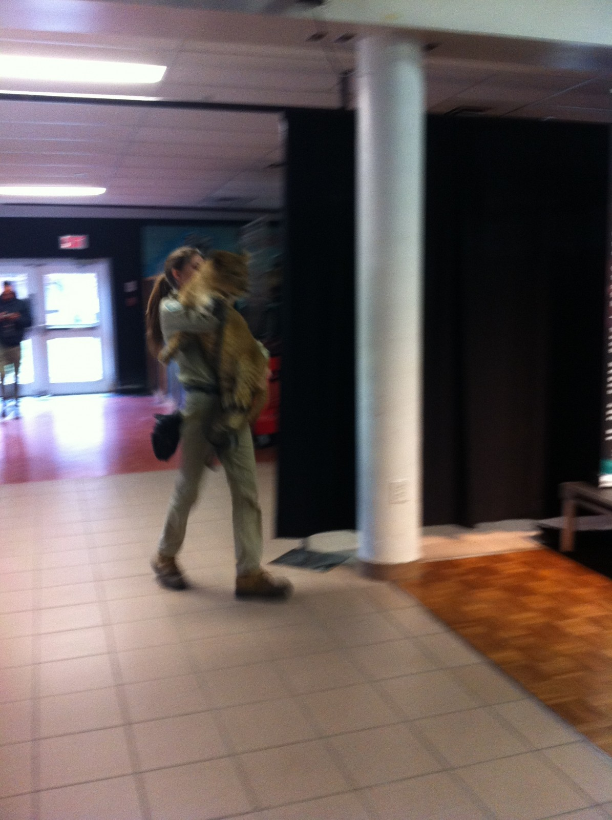 Jungle Cat World brings lioness cub to Fanshawe College