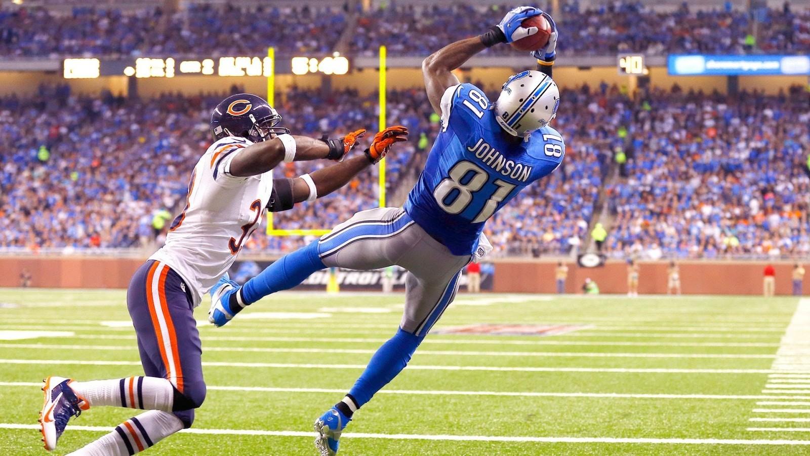 Detroit Lions WR Johnson calls it a career