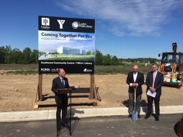 $55M Southwest Community Centre, YMCA, and Library