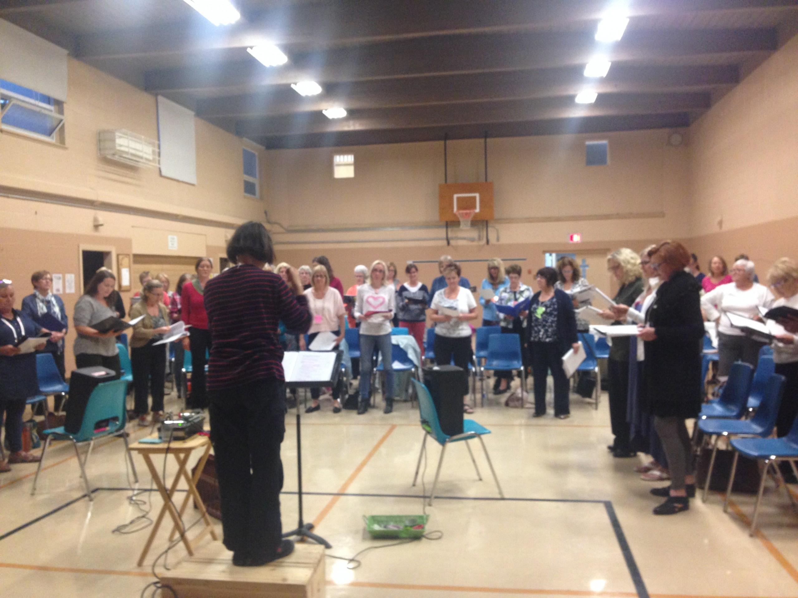 Shout Sisters! Ontario's largest growing choir