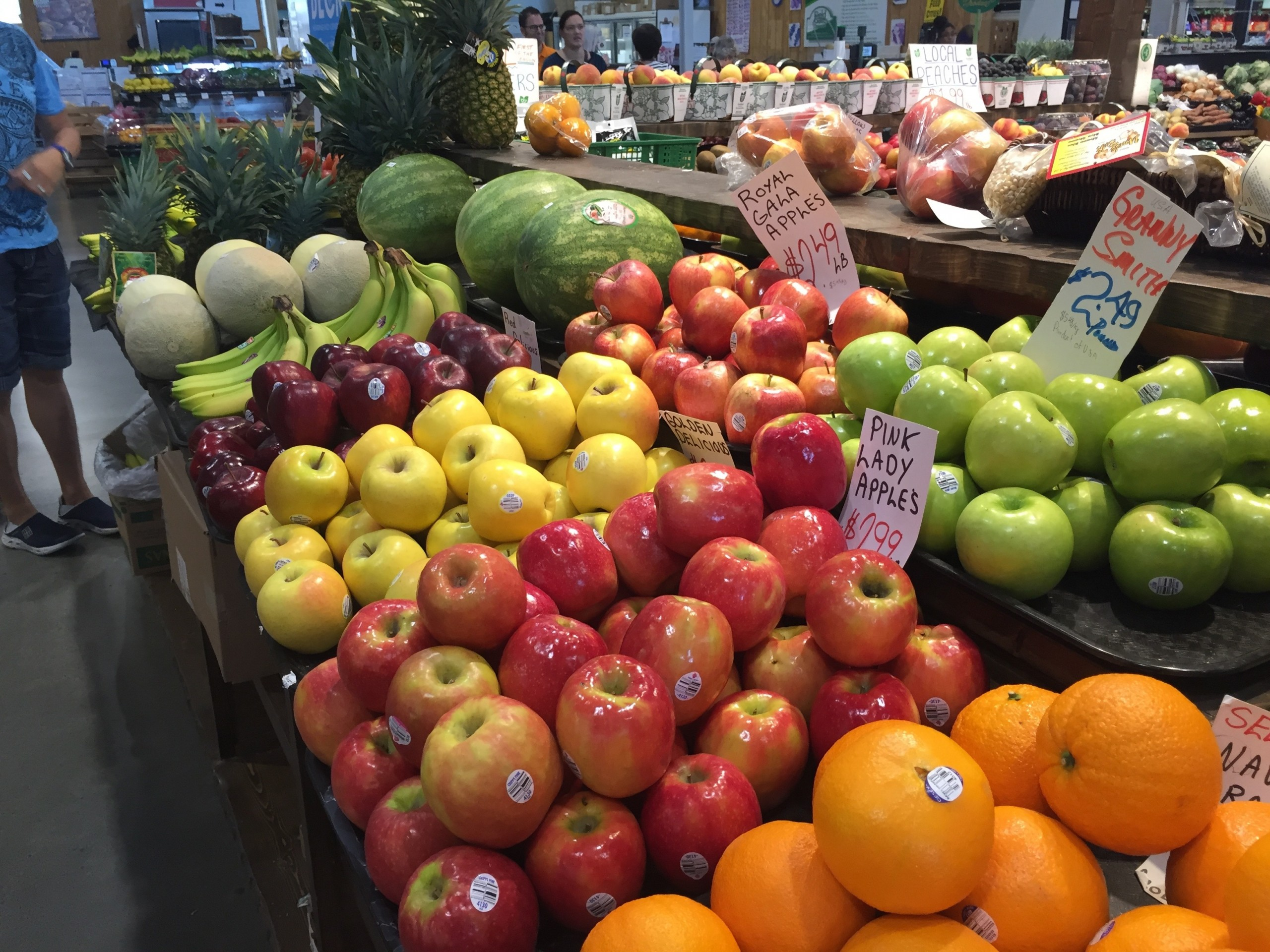 The convenience and affordability of buying local