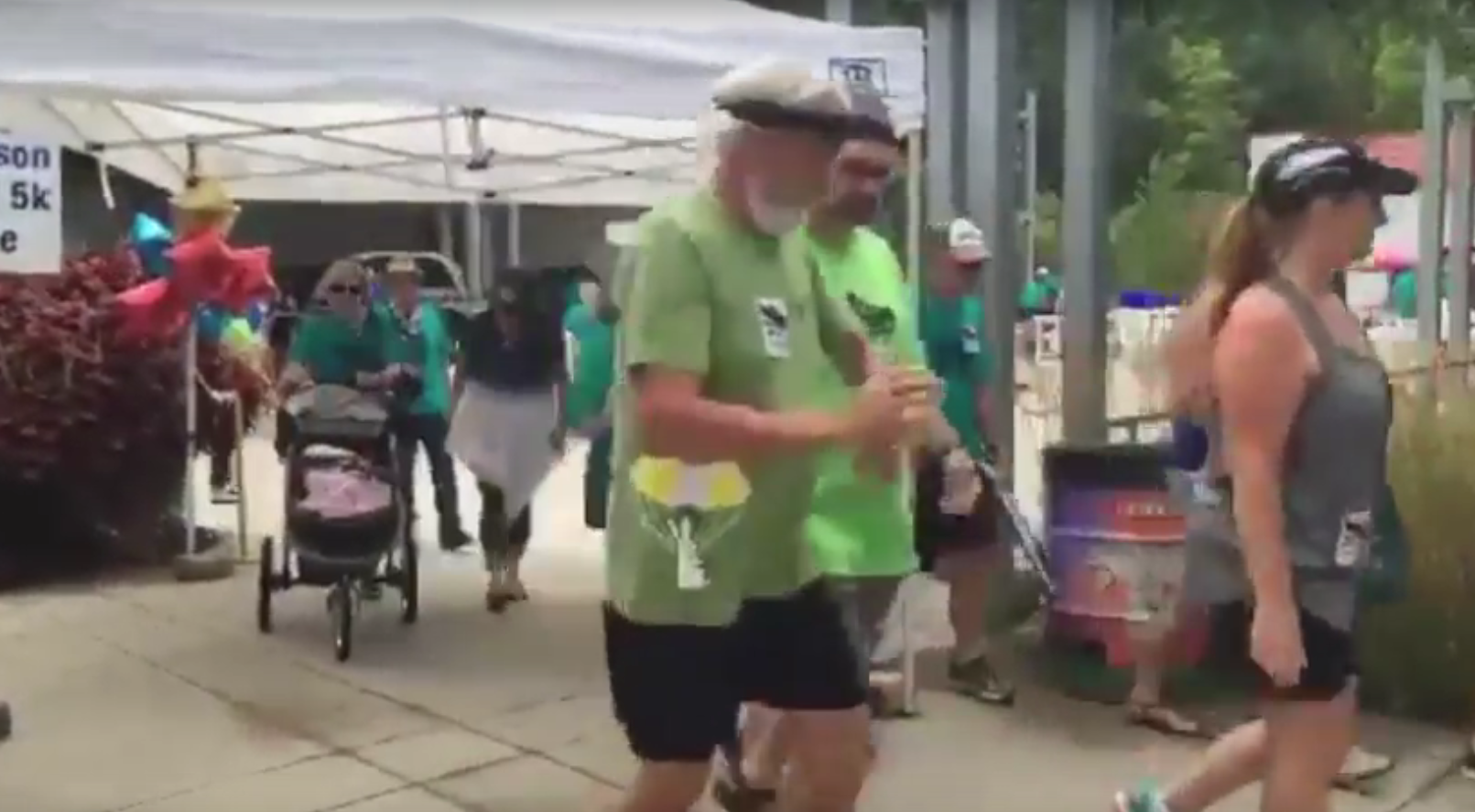 WALK-IT For Parkinson's attracts hundreds