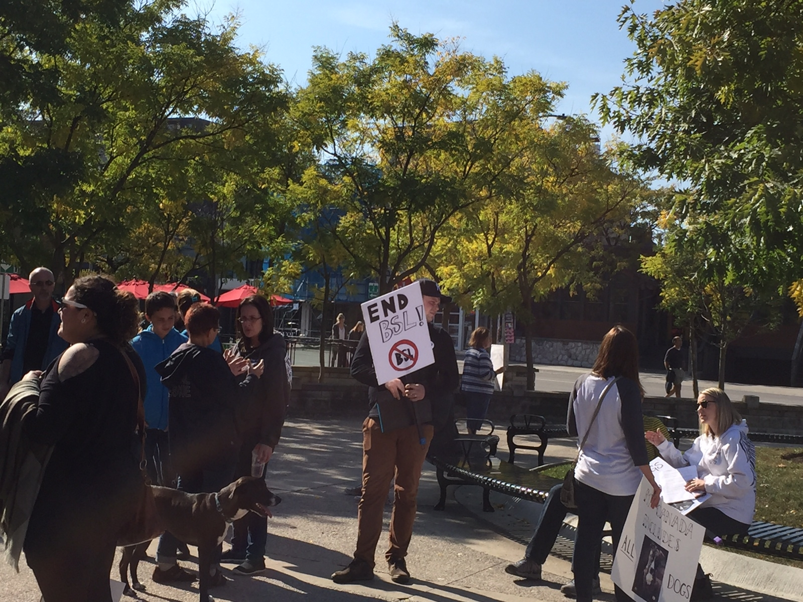 Londoners Rally For An End To Breed Specific Legislation