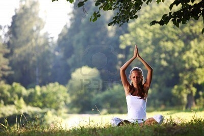 Yoga improving posture and well-being