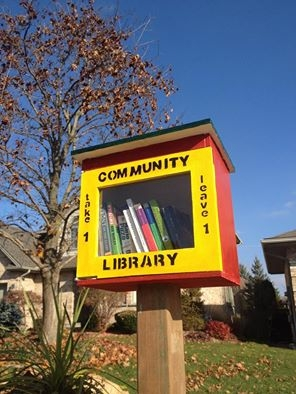 London's newest Little Free Library