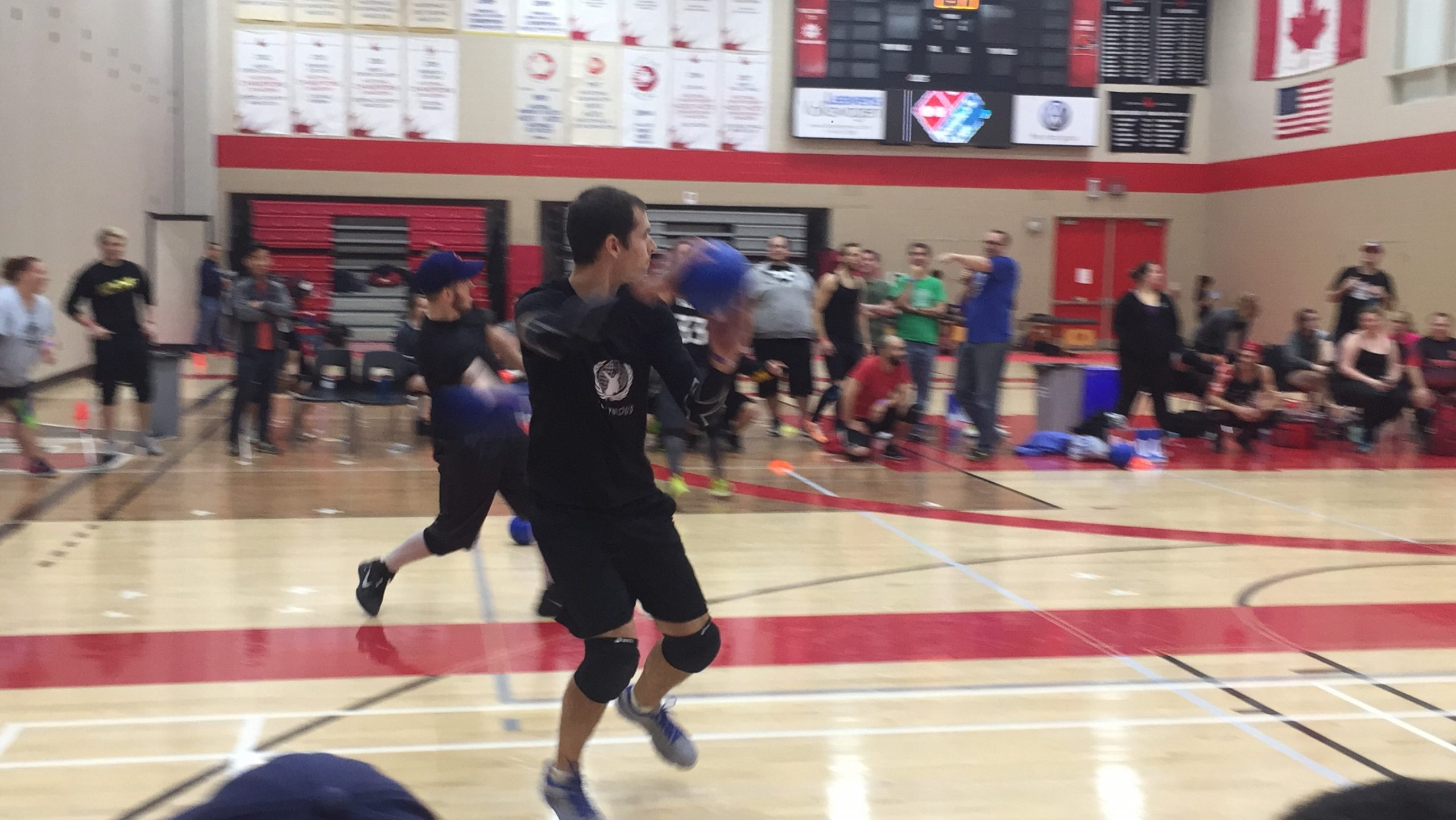 Dodgeball tournament shows it's more than just a gym class game