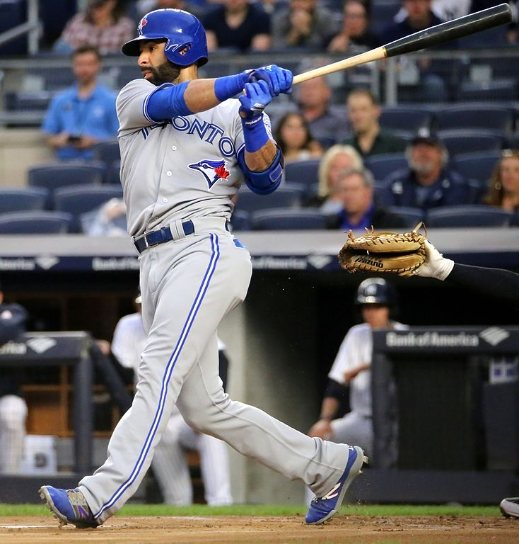 Joey Bats sits atop Jays list of available outfielders