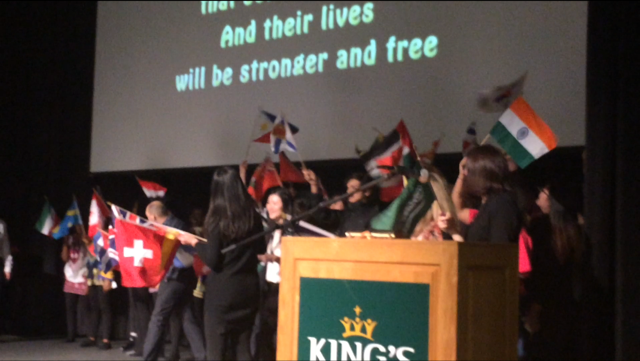 King's students keep cultural traditions alive
