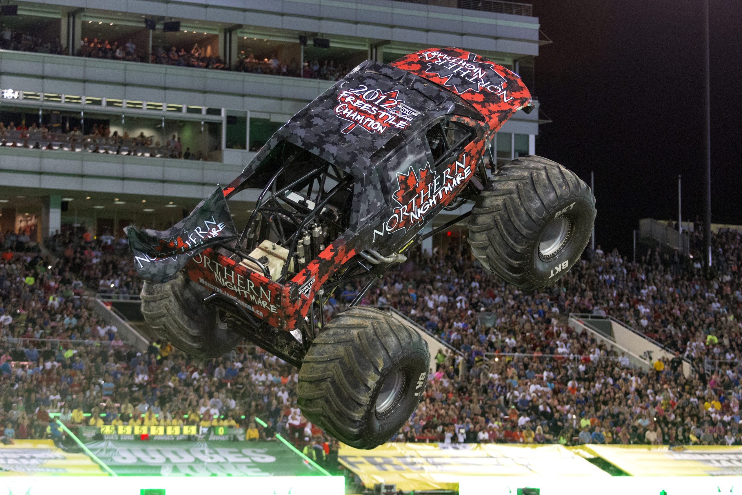 Monster Jam crashes into Budweiser Gardens this weekend