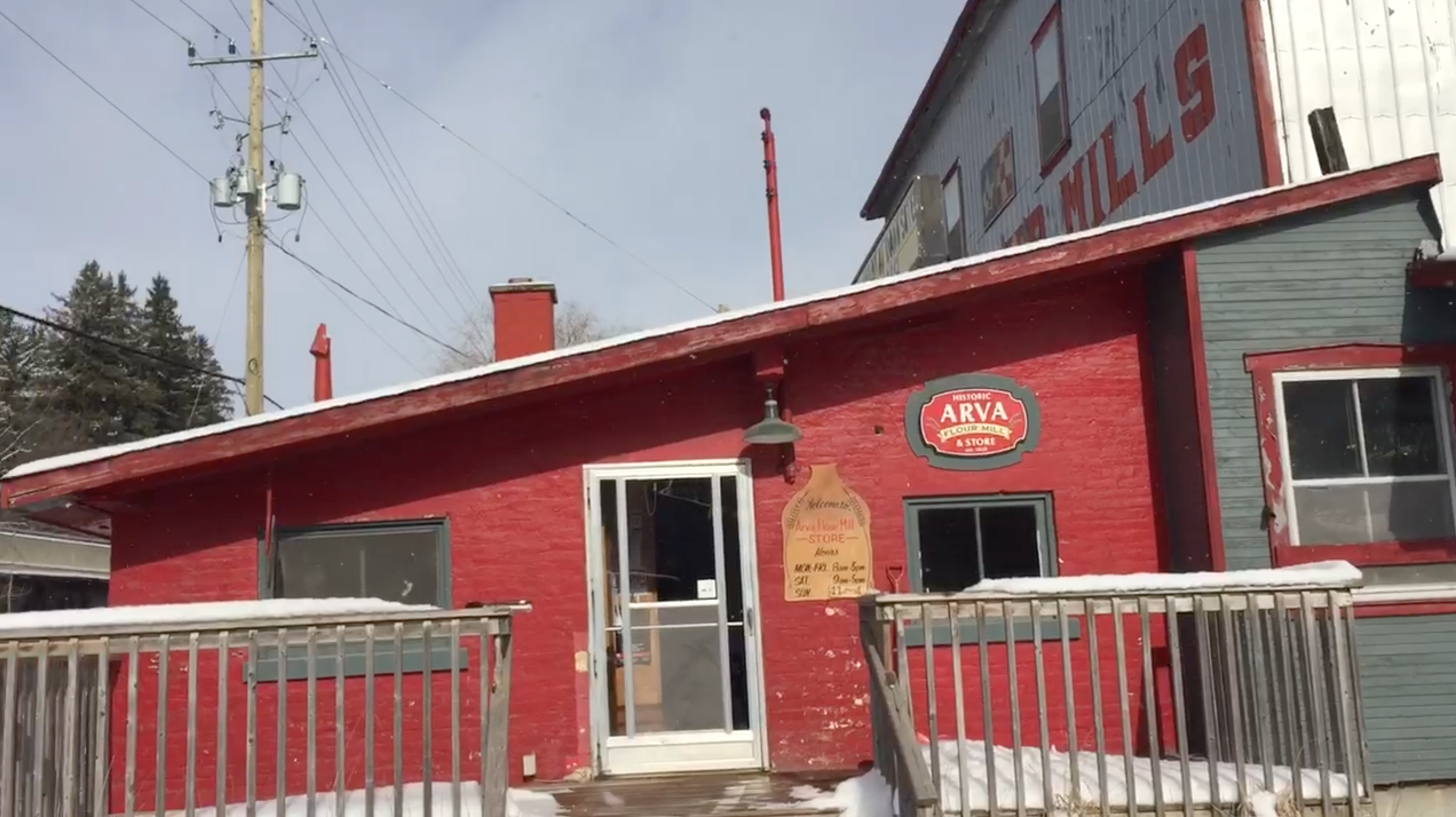 Arva Flour Mill won't be grinding to a halt