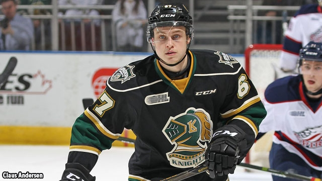Knights eyeing first place with Rangers in town