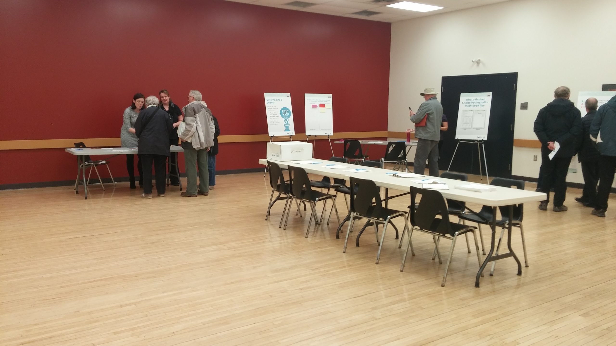 Ranked ballot info sessions continue tonight in London