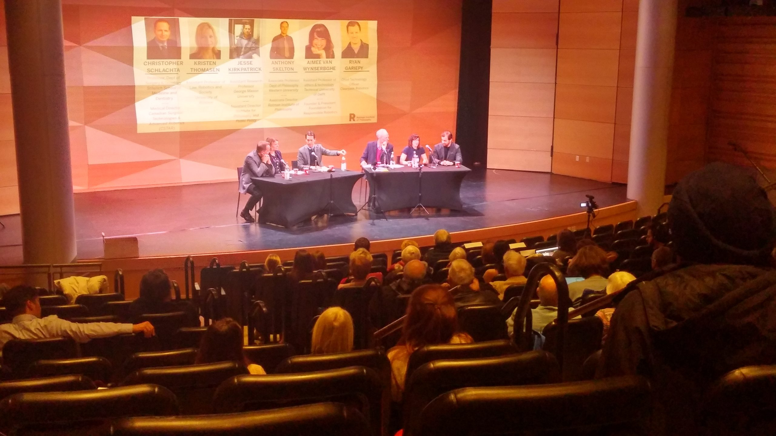 Local Panel tackles Robots Ethics