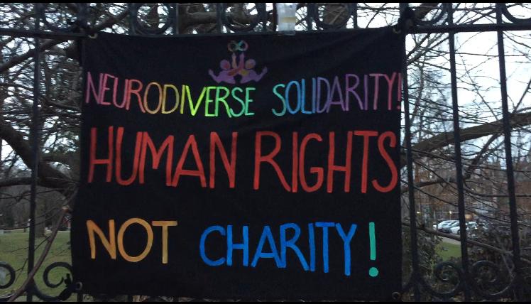 Disabled Victims Vigil