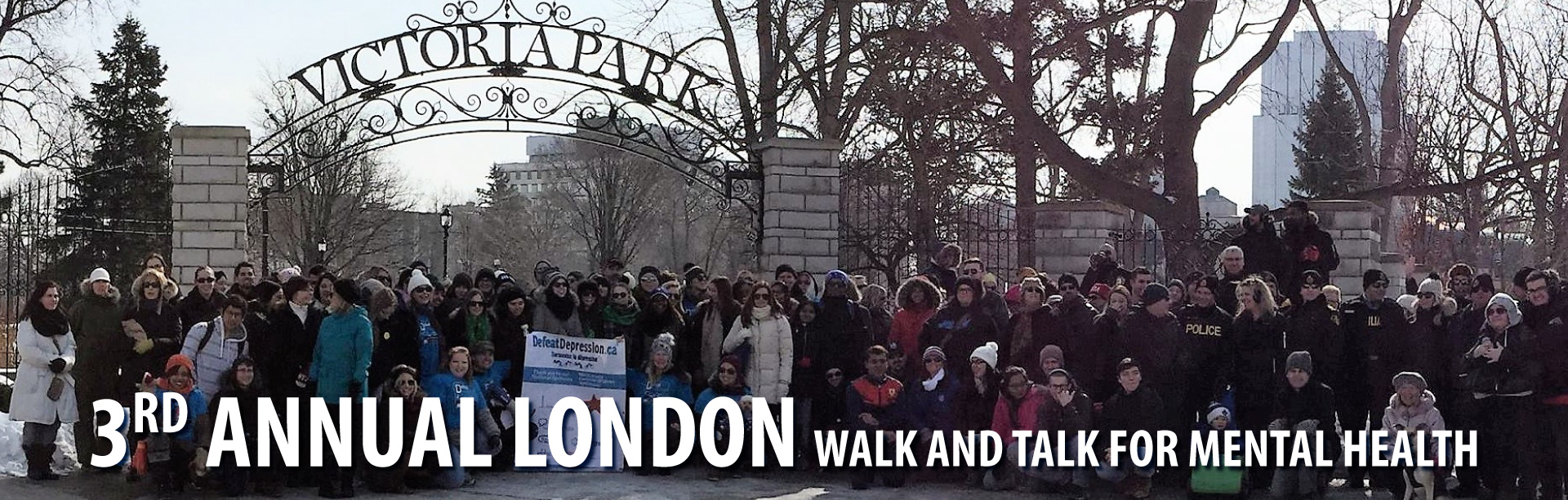 London talk and walk for mental health