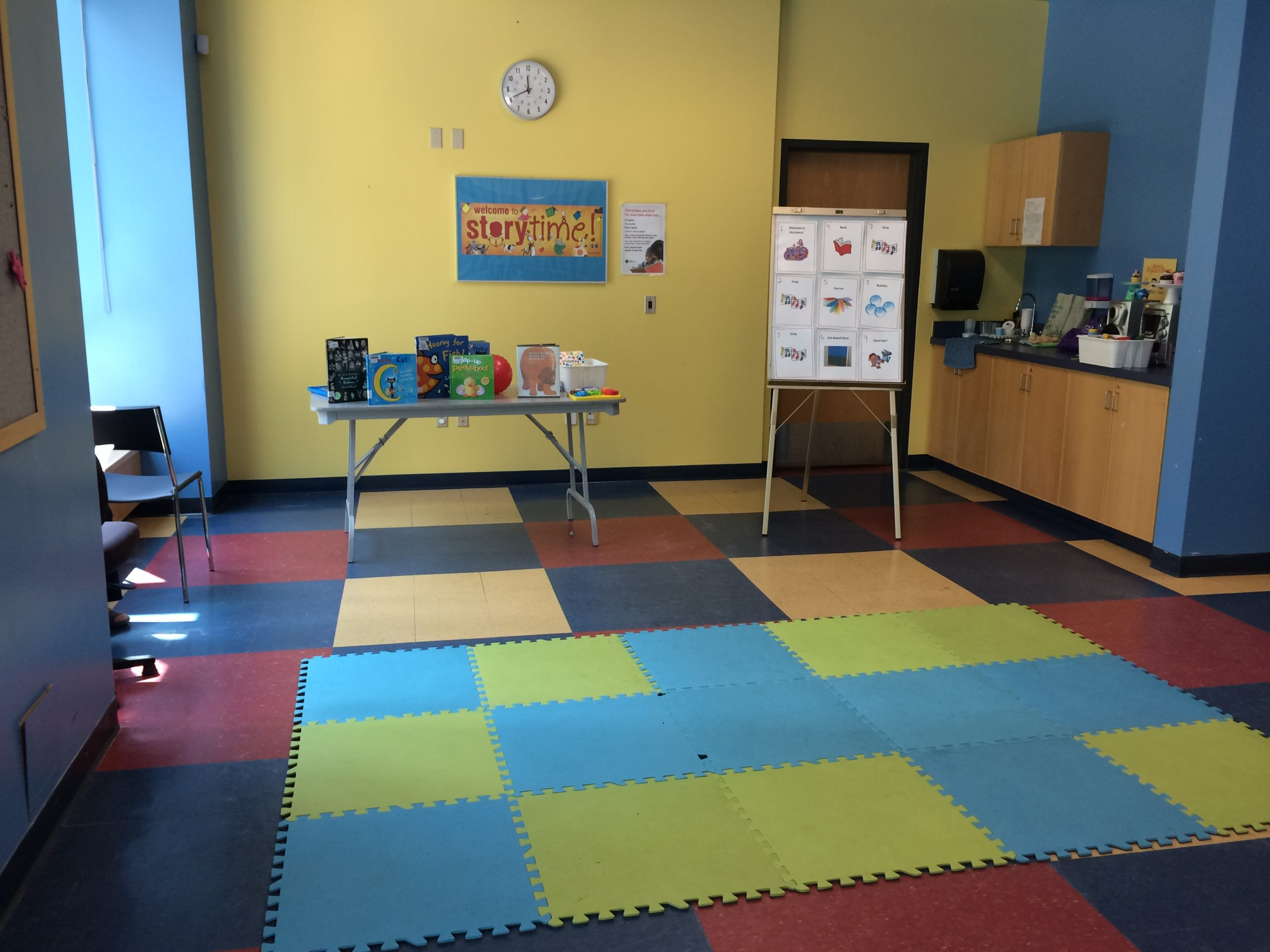 Sensory Storytime, A Pilot Project Spreading The Message of Acceptance and Inclusion at Central Library