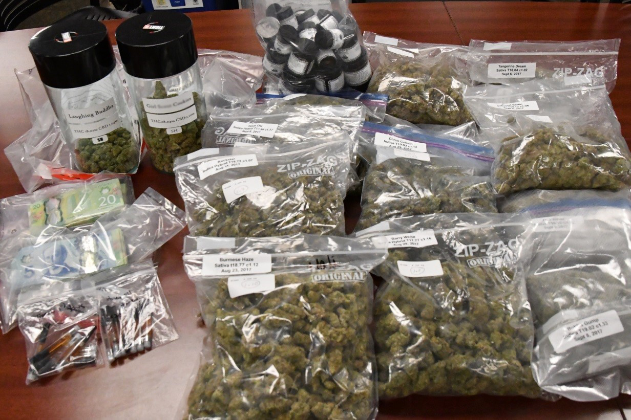 More than $45,000 in drugs and $15,000 cash seized in dispensary raid