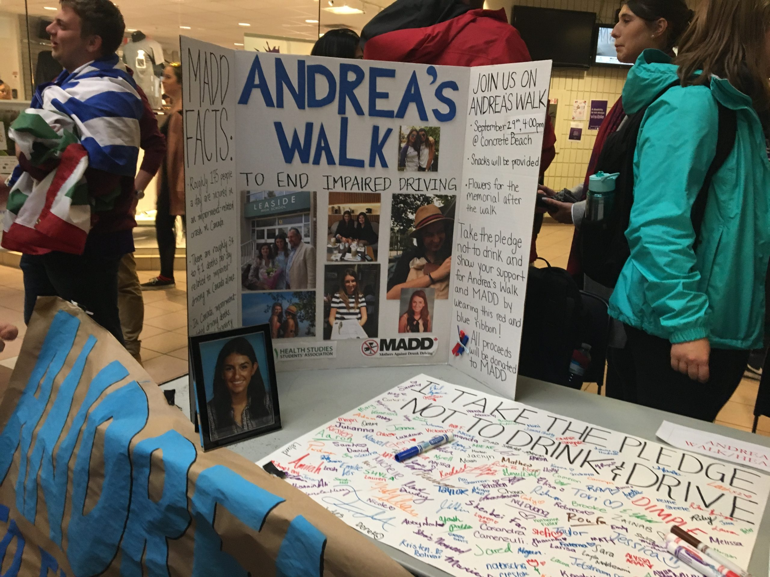 Western students remember the life of Andrea Christidis