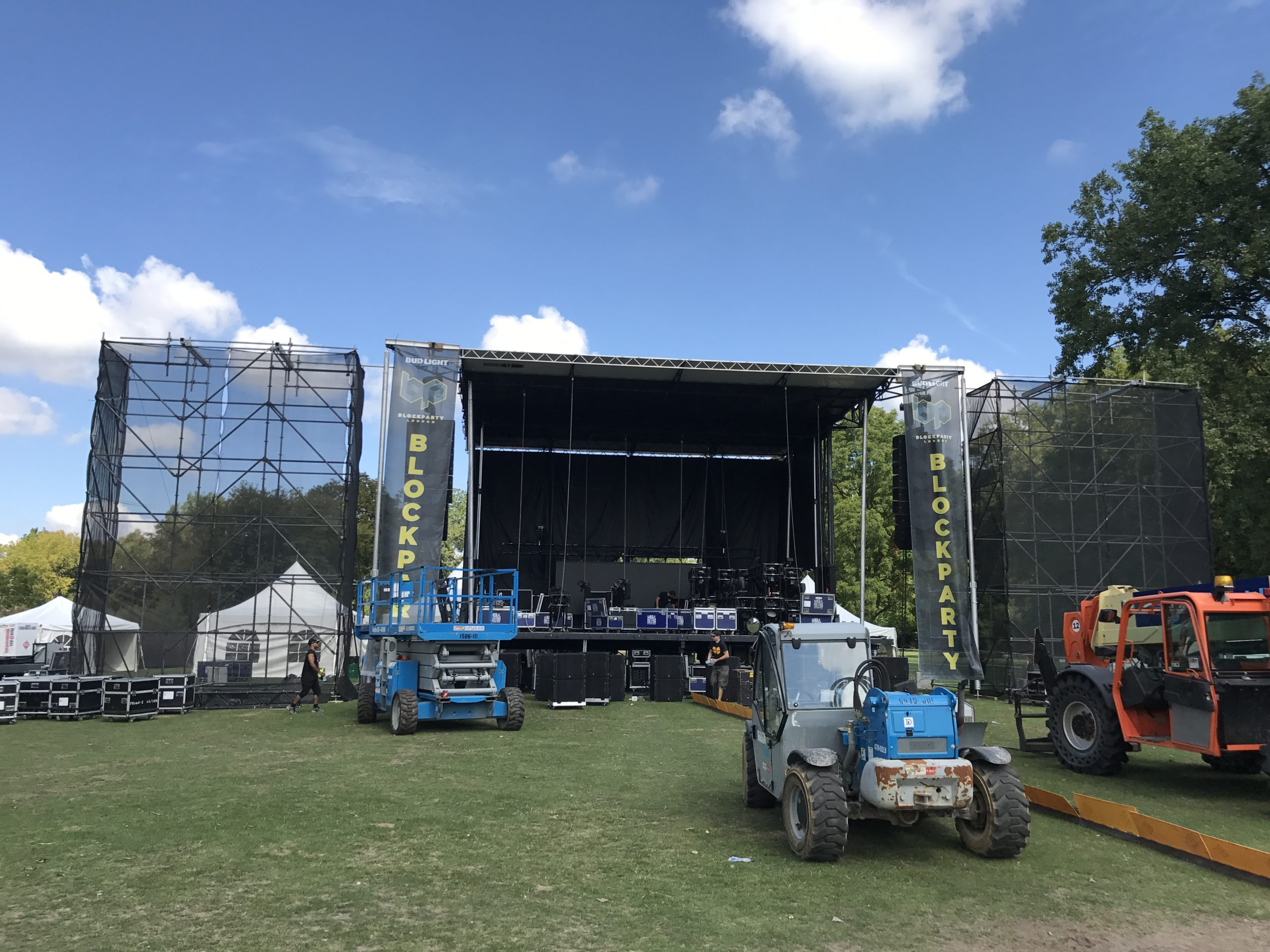 Harris Park prepares for London's biggest EDM Festival