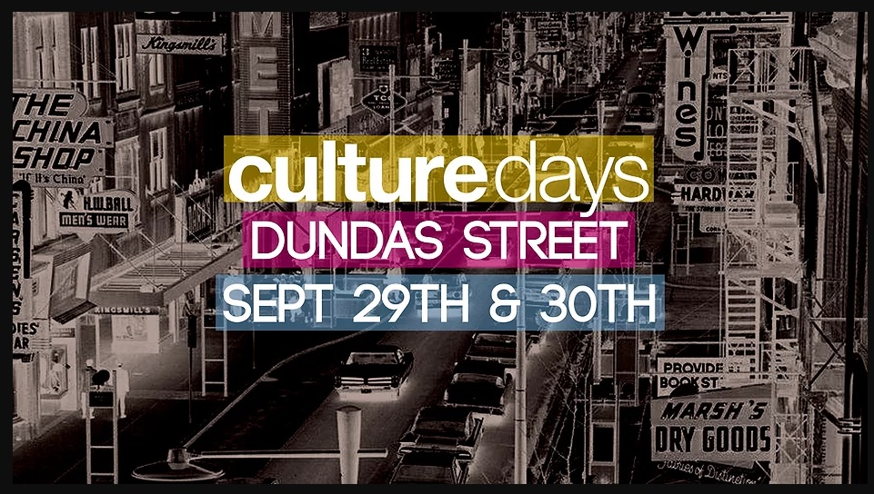 Culture Days: an artsy downtown take-over