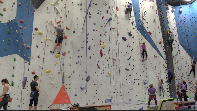 Junction Climbing Centre offers fun activity for everyone
