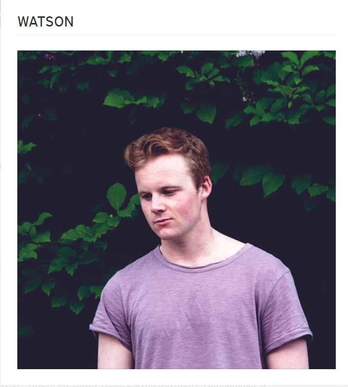 WATSON's World: Life as an up-and-coming DJ