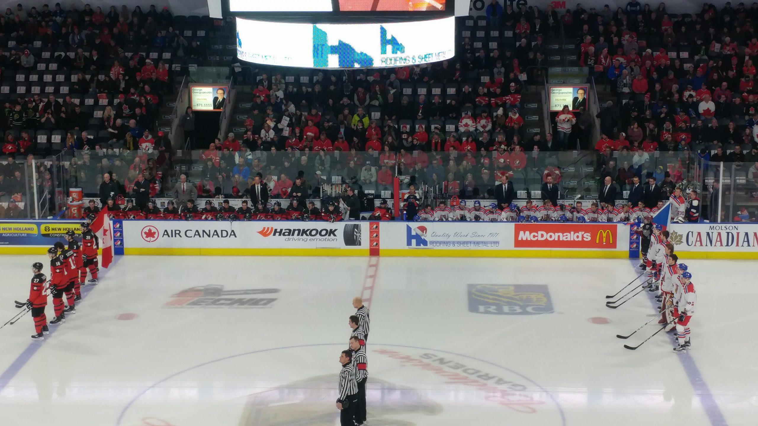 Canada blanks Czechs