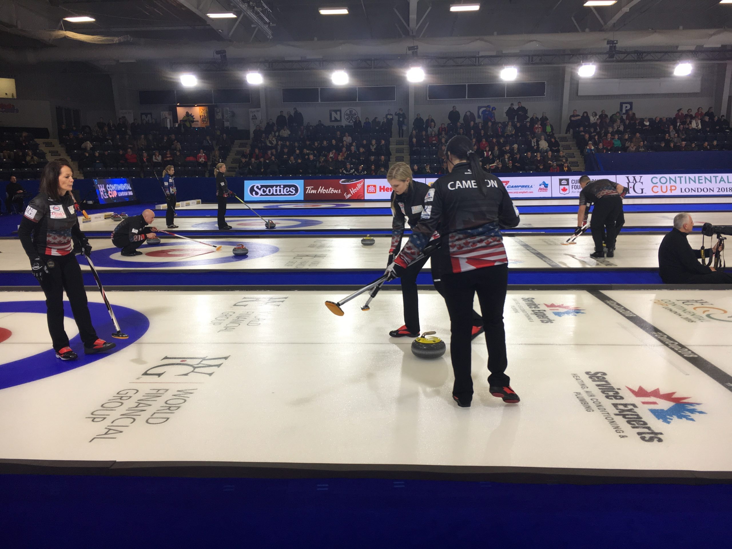 Curling's Continental Cup kicked off in London