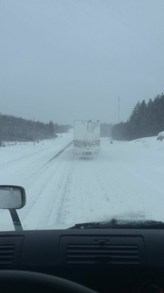 Trucking on the roads of North America