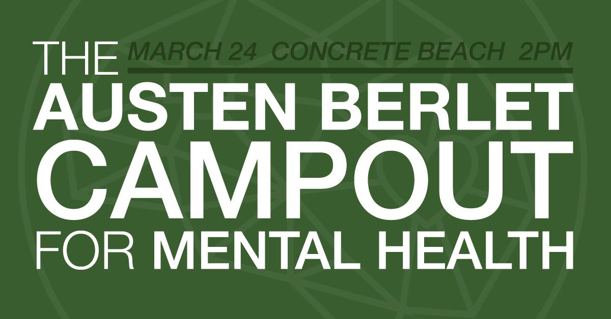 Austen Berlet Campout for Mental Health adds to $100,000 raised