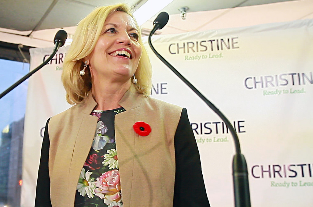 """Christine Elliott not ready to """"concede"""""""