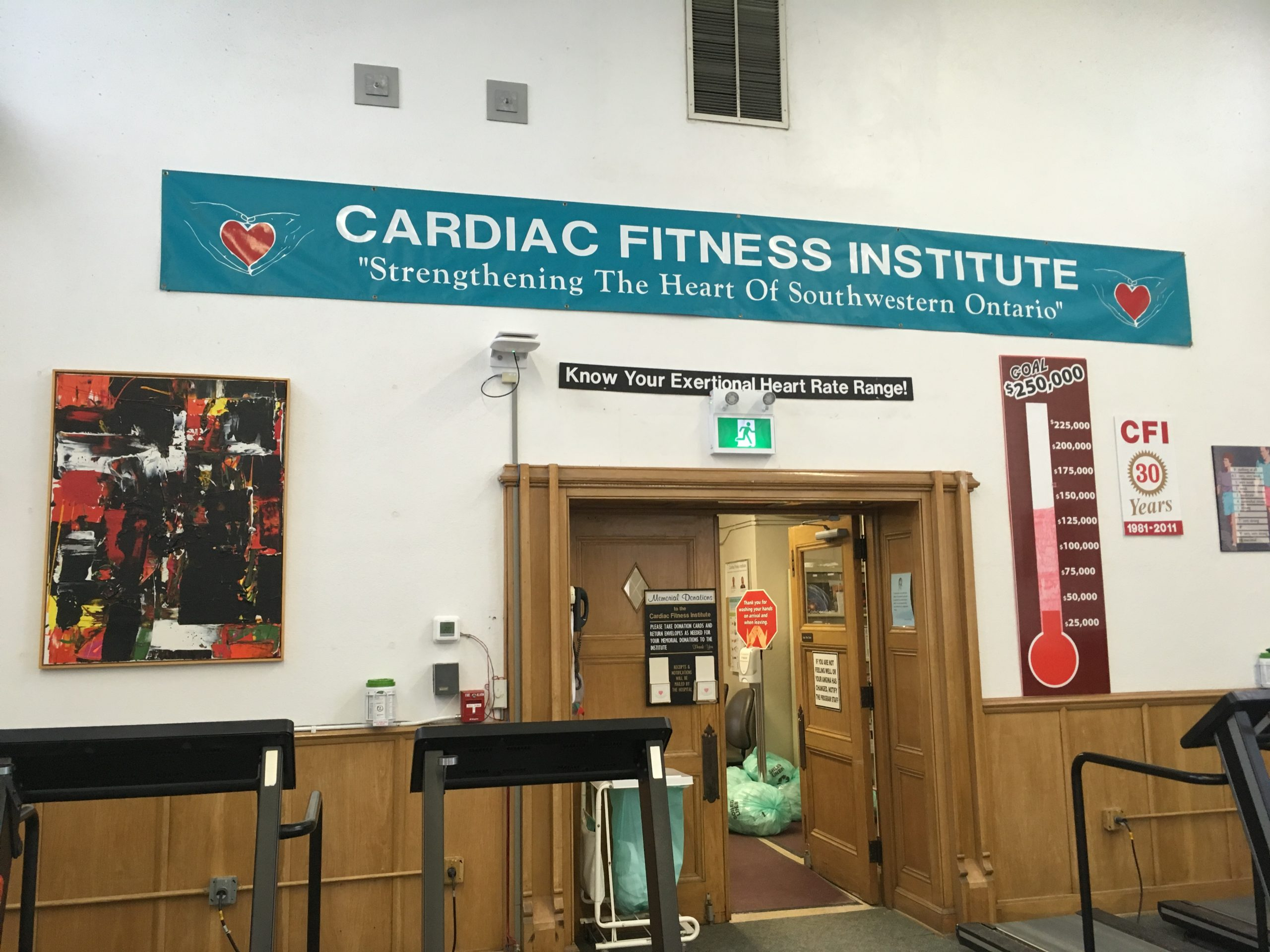 Is it too late to save the Cardiac Fitness Institute?