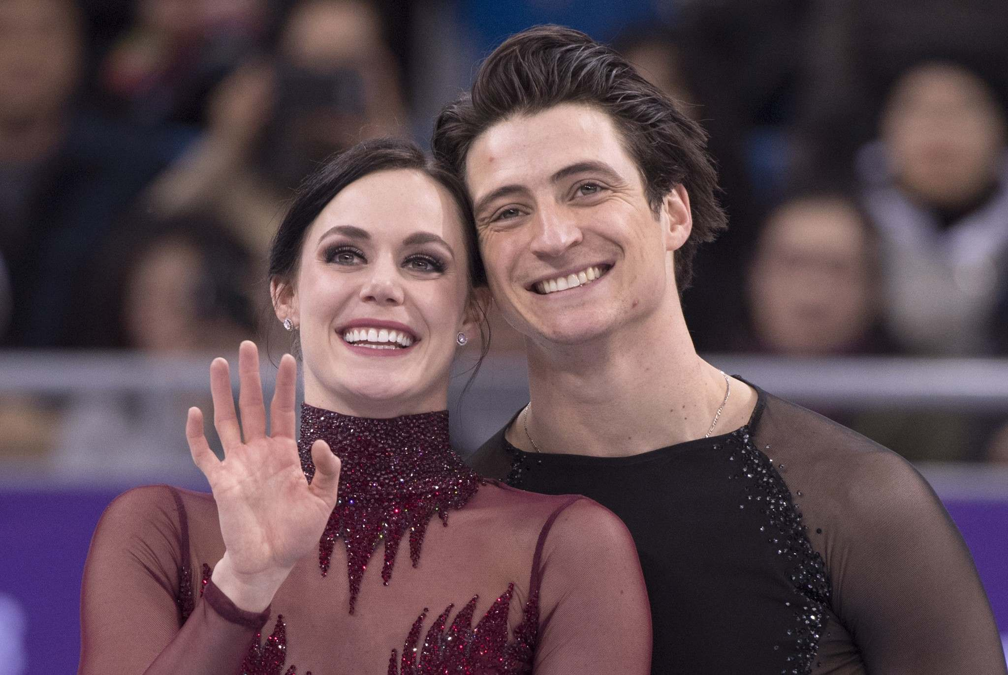 Tessa Virtue & Scott Moir set to dance with Ellen DeGeneres