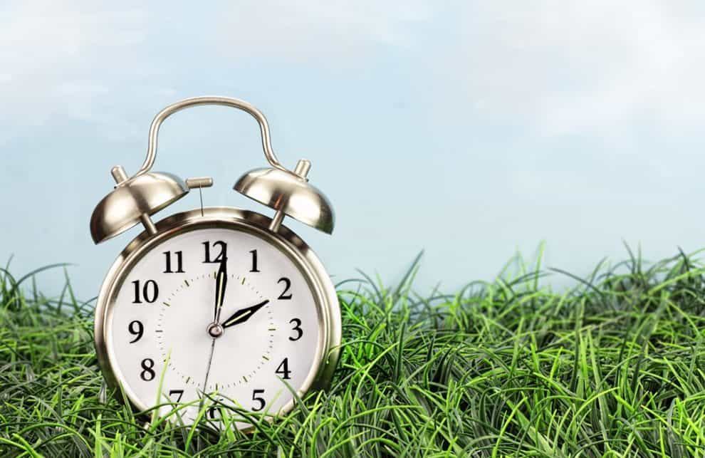 Daylight saving time springs us forward