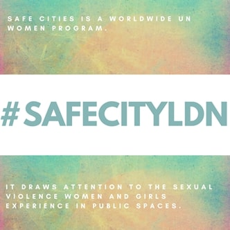 Women and girls can now mark on a map where they feel safe, or unsafe in the city