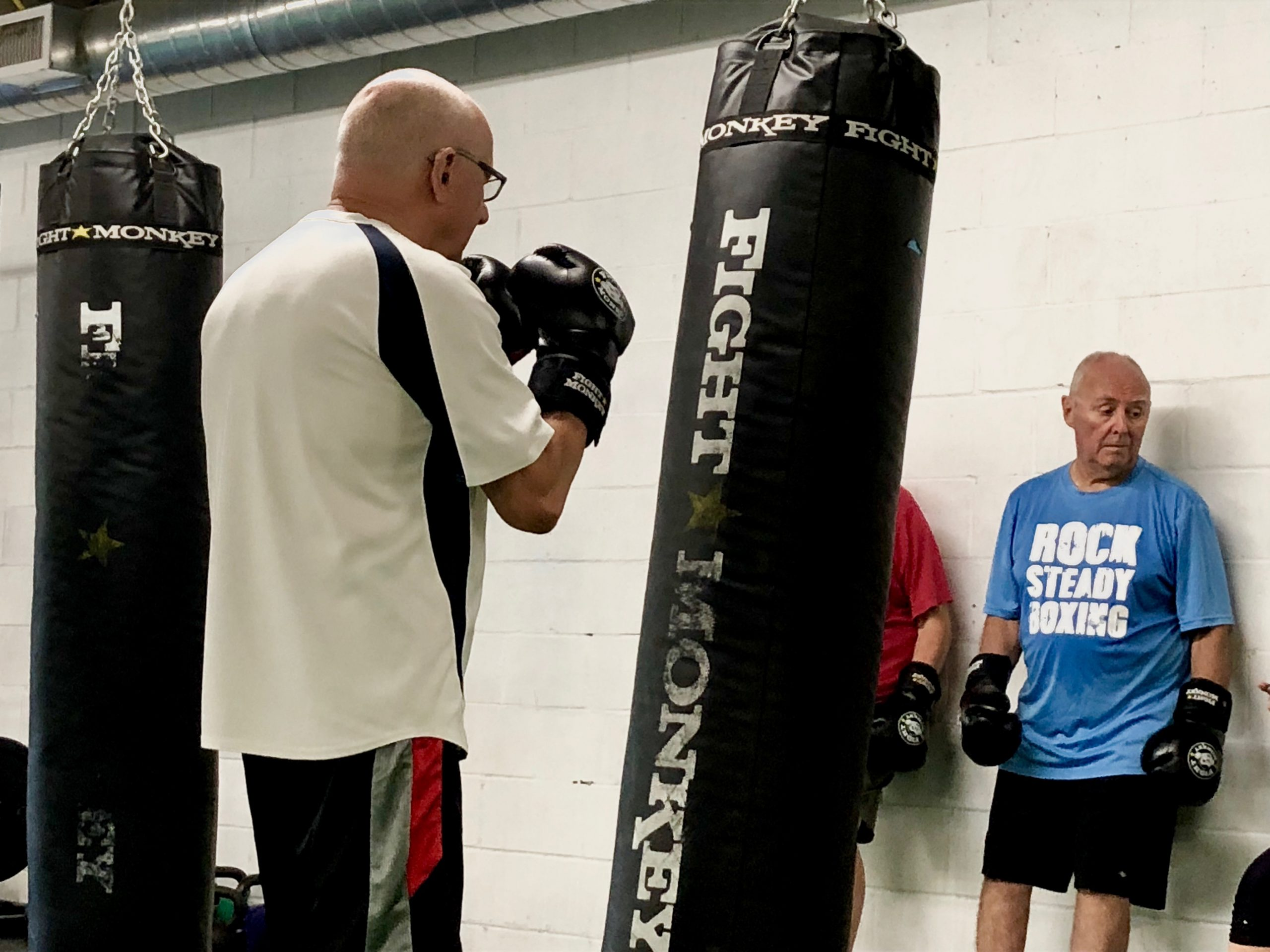 Boxing class in london for those with parkinsons