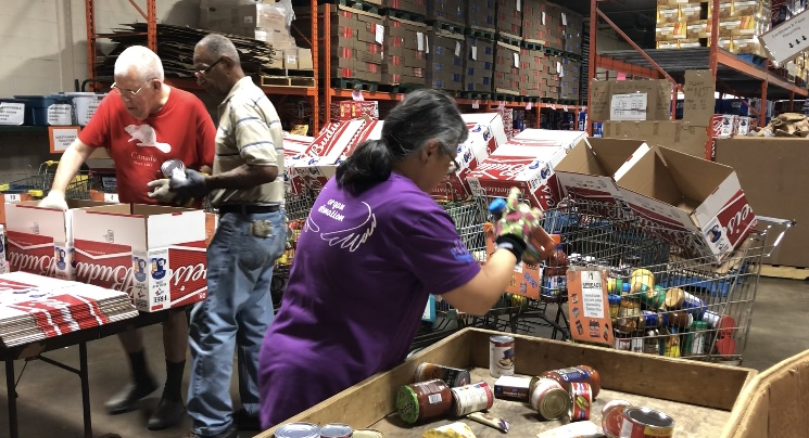 Lending a helping hand to those in need: London Food Bank