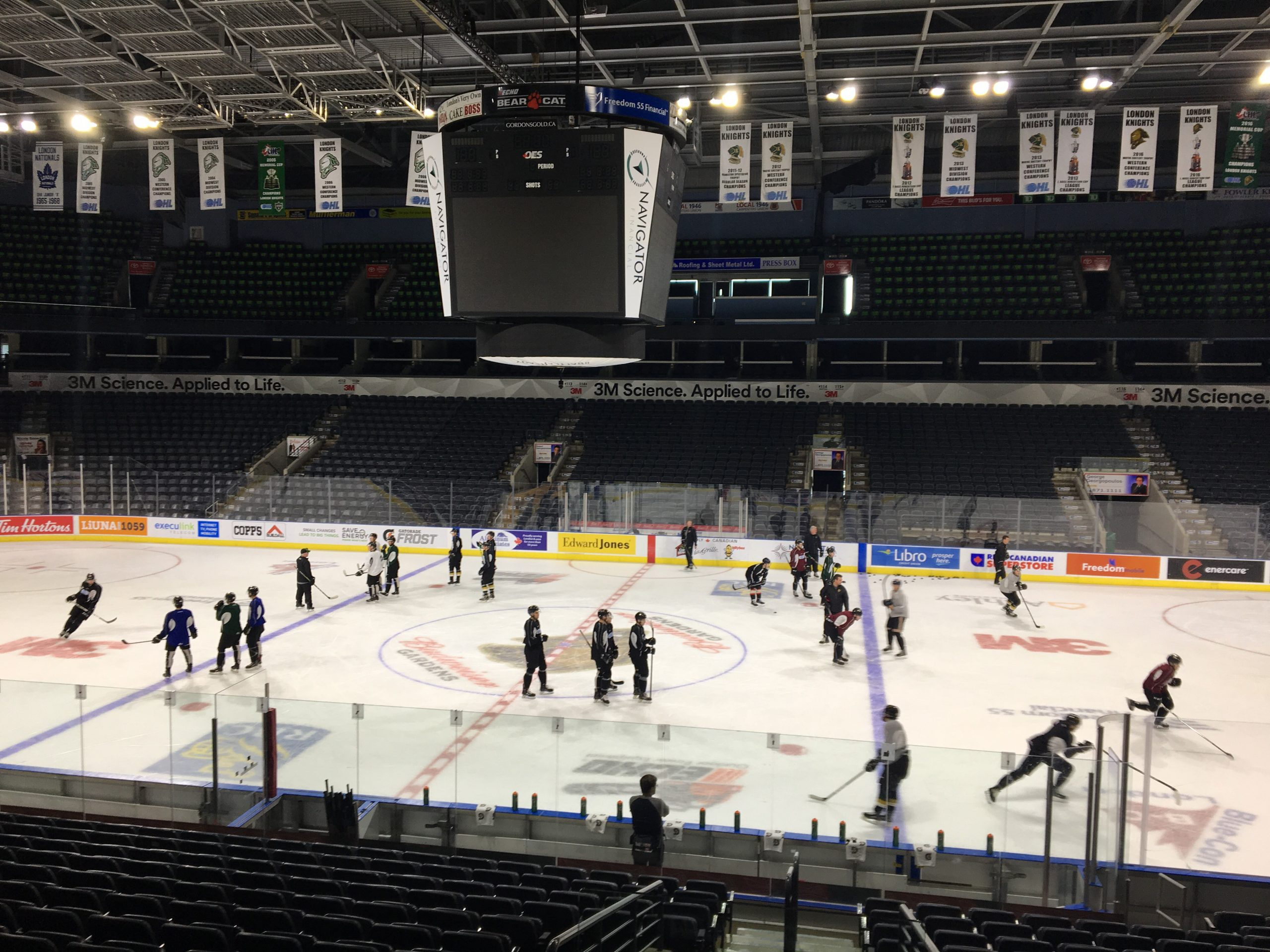 London Knights Getting Set For Another Home Opener