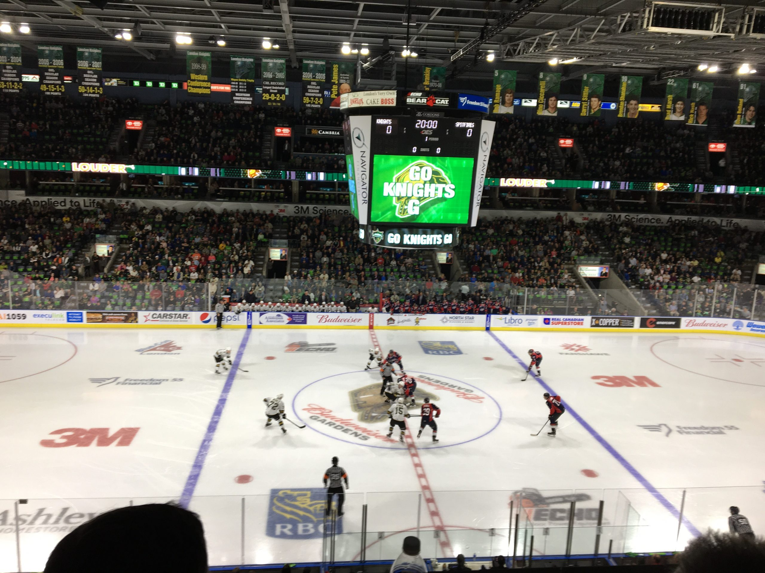 London Knights Dominate in their Home Opener