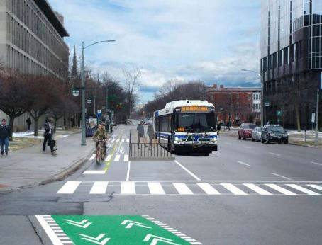 King Street bike lanes to improve downtown cycling safety