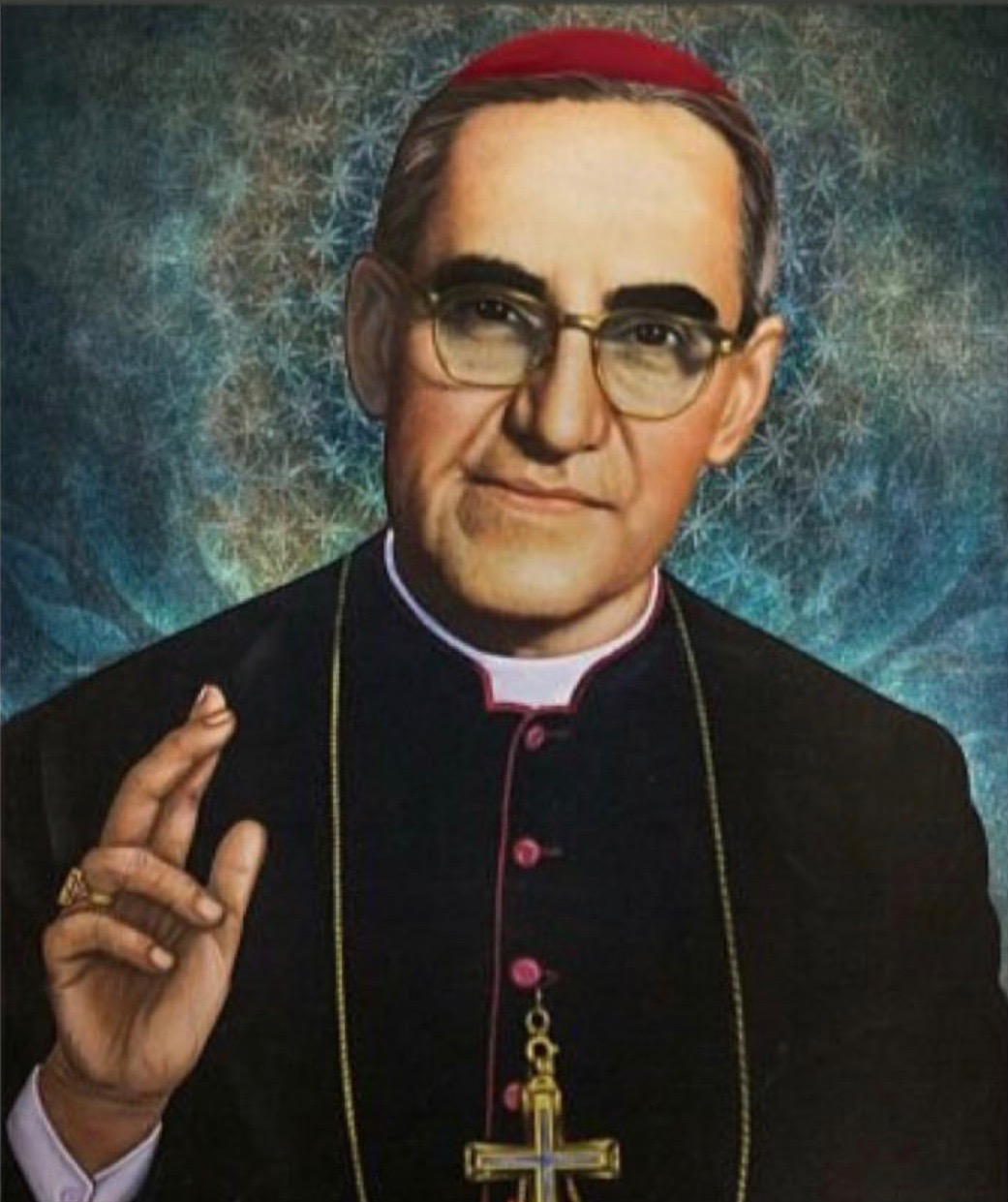 Catholic Salvadorans in London react to canonization of the new Saint of America