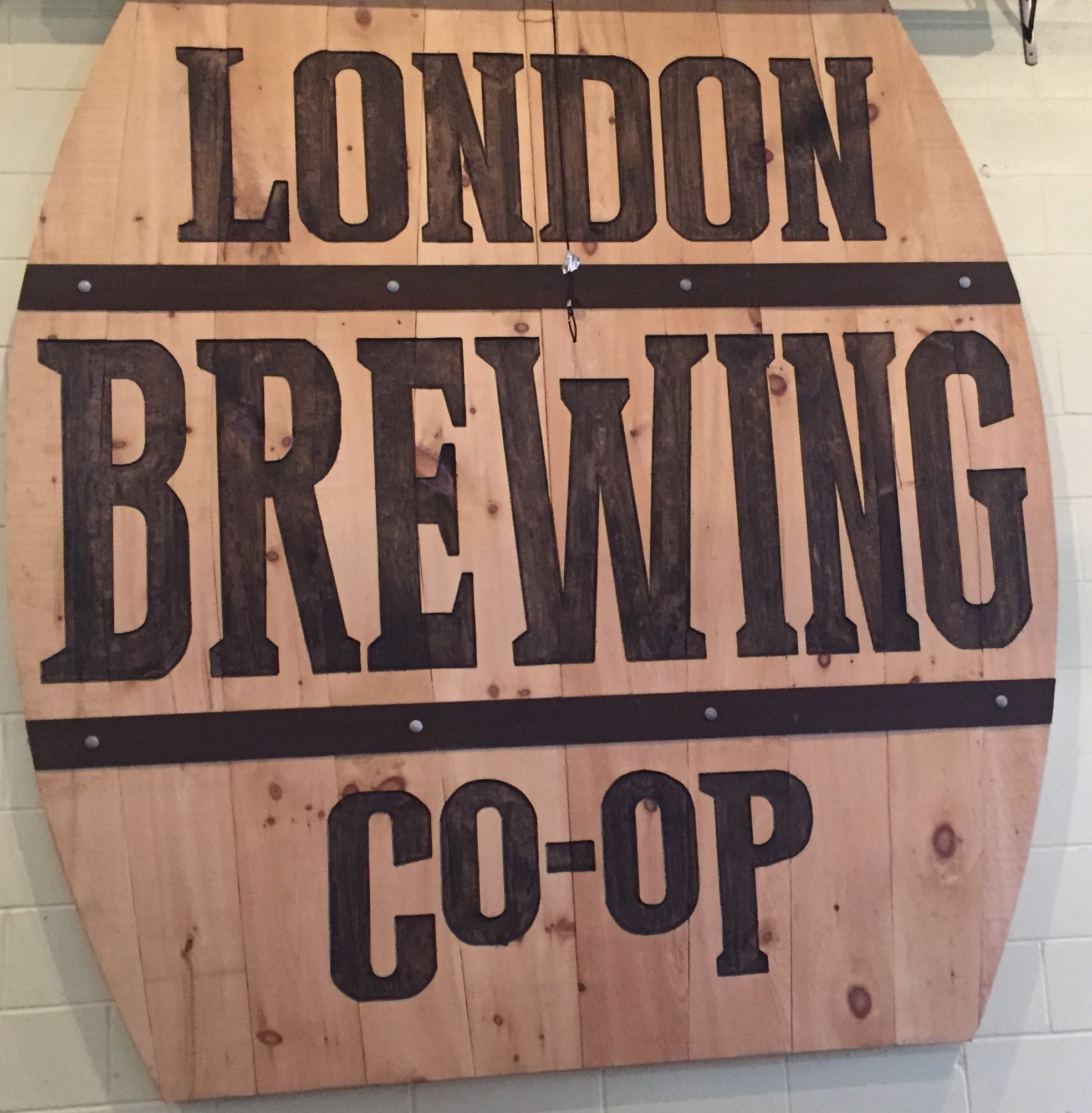 London Brewing Co-operative first of its kind.