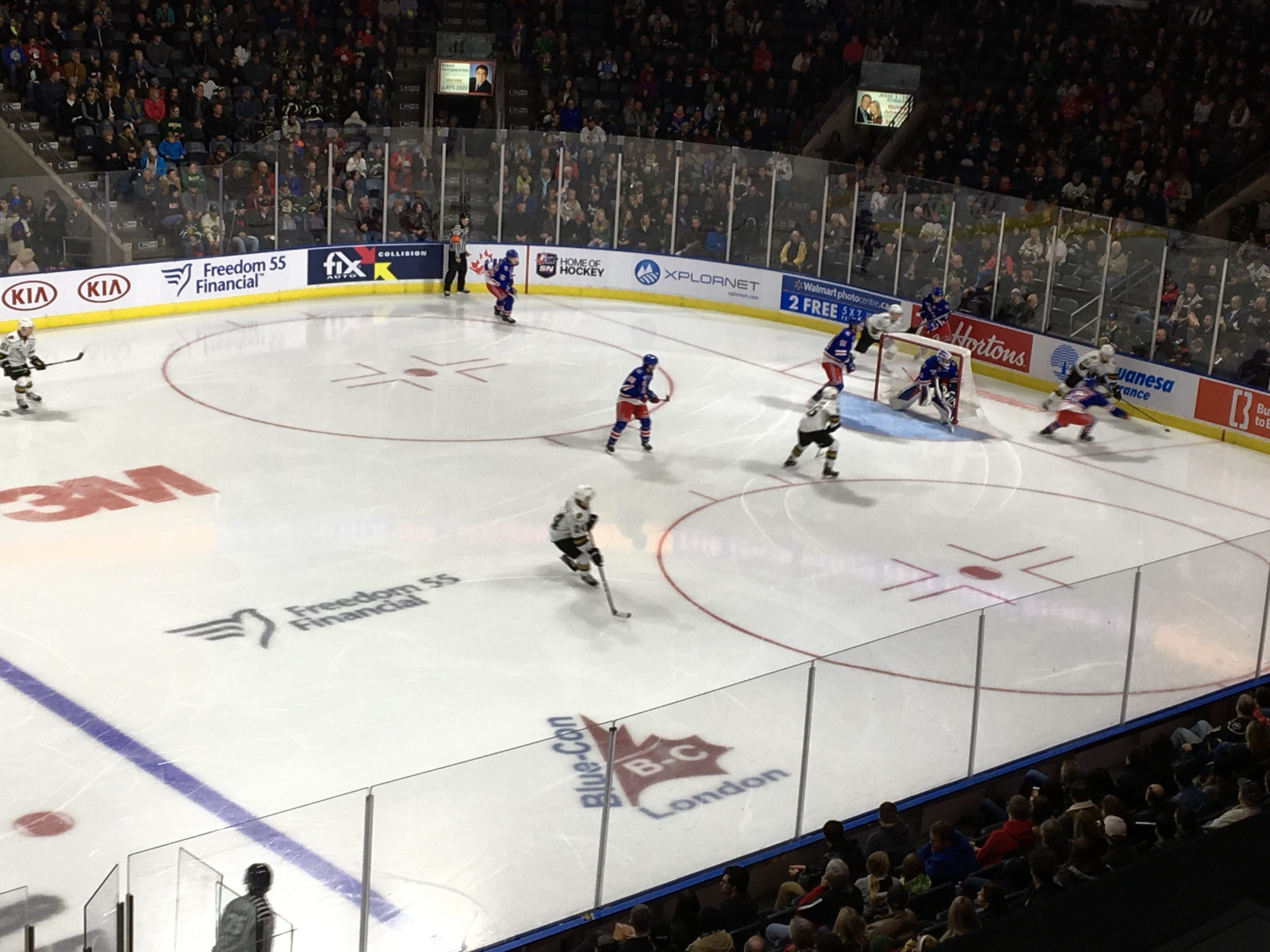 Panwar Scores His First Career OHL Goal in Win Over the Rangers